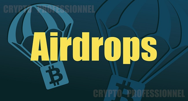 airdrop crypto professionnel