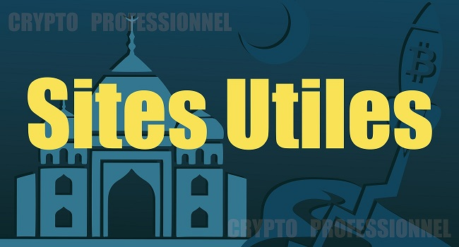 sites utiles crypto professionnel